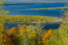 Volgaet River Arkivbild