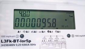 Volgende-generatie elektrische meter Royalty-vrije Stock Fotografie