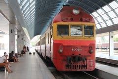 Volgende trein Stock Foto
