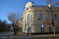 Volgograd. Archtecture and street of Volgograd Royalty Free Stock Image