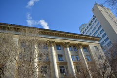 Volgograd. Archtecture and street of Volgograd Stock Photo