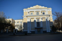Volgograd. Archtecture and street of Volgograd Stock Photos