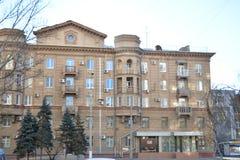 Volgograd. Archtecture and street of Volgograd Royalty Free Stock Photo