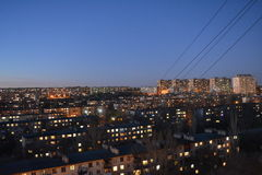 Volgograd. Archtecture and street of Volgograd Royalty Free Stock Photos