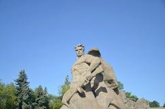 Volgograd, Mamayev Kurgan stock afbeelding