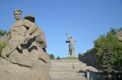 Volgograd, Mamayev Kurgan Royalty Free Stock Photo