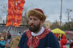 Volgograd, Maslenitsa 2017 royalty free stock photography