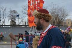 Volgograd, Maslenitsa 2017 stock image