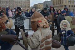 Volgograd, Maslenitsa 2017 stock photography