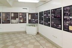 Volgograd Rosja, Listopad, - 02, 2016 Muzeum pamięć - Umieszcza niewoli fascist marszałka Paulus w drugiej wojnie światowa Zdjęcie Royalty Free