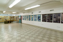 Volgograd Rosja, Listopad, - 02, 2016 Muzeum pamięć - Umieszcza niewoli fascist marszałka Paulus w drugiej wojnie światowa Obraz Stock
