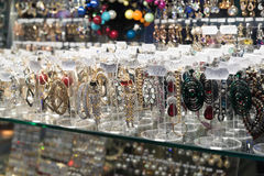 Volgograd, Russia - November 03.2016. Jewelry in shopping and entertainment complex Diamant Royalty Free Stock Images