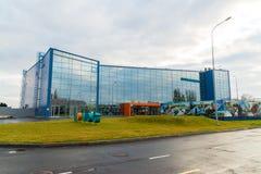 Volgograd, Russie - 4 novembre 2016 nouvel aéroport du terminal C Gumrak Images stock