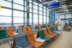 Volgograd, Russie - 4 novembre 2016 Salle d'attente à l'aéroport de Gumrak Photo stock