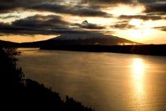 volkano стоковое фото rf