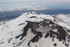 Volkano i Kamchatka Arkivfoto