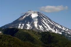 Volkanos du Kamtchatka Photographie stock