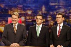 Volker Kefer, Winfried Hermann, Nils Schmid Stock Images