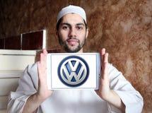 Volkeswagen, logotipo del coche de VW foto de archivo