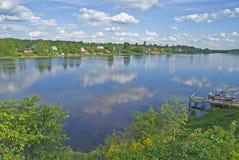 Volkhov Rzeka zdjęcia stock