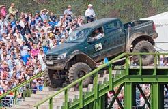 Volkodav 21596 zwyczaju pickup samochód dostawczy Zdjęcie Royalty Free