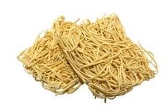 Volkorenspaghetticlose-up Royalty-vrije Stock Afbeelding
