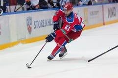 Volkov Igor (61) in atack Stock Photo