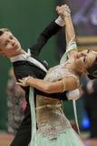 Volkov Iliya and Stasyuk Ekaterina perform Youth-2 Standard Program on National Championship Stock Images