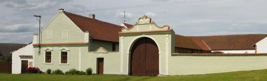Volks barok huis stock foto