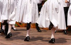 Volks dansers stock afbeelding