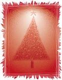 Volks Kerstboom Stock Fotografie