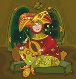 Volks Musicus royalty-vrije illustratie