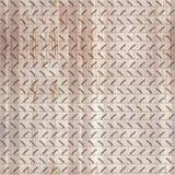 Volks sier Mezen die naadloos patroon schilderen Houten textuurachtergrond Stock Afbeelding