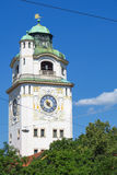 Volksbad tower Stock Photos
