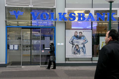 Volksbank Royalty Free Stock Photography