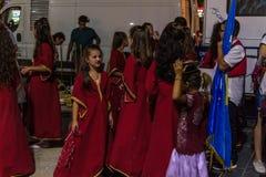 Volksdans en Muziekfestival stock fotografie