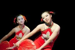 Volksdans: Hong Haier Royalty-vrije Stock Foto