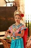 Volksdansen, Bangkok, Thailand Royalty-vrije Stock Afbeelding