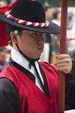 Volksfeiern in Seoul Lizenzfreies Stockfoto