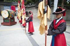 Volksfeiern in Seoul Stockfotografie