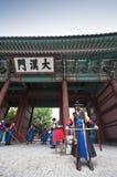 Volksfeiern in Seoul Lizenzfreie Stockfotos
