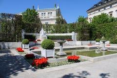 Volksgarten hermoso en Viena imagen de archivo