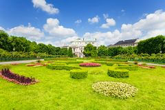 Volksgarten park in Vienna Stock Photography