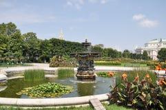Volksgarten & x28; People& x27; s Garden& x29; в вене Стоковое фото RF