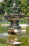 Volksgarten & x28; People& x27; s Garden& x29;在维也纳 图库摄影