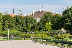 Volksgarten (People's Garden) In Vienna Stock Image
