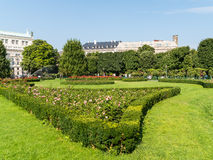 Volksgarten (People's Garden) In Vienna Stock Photo