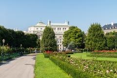 Volksgarten (People's Garden) In Vienna Royalty Free Stock Image