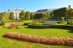 Volksgarten (People's Garden) in Vienna, Austria Stock Photography