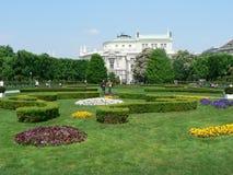 Volksgarten Viena Imagen de archivo libre de regalías